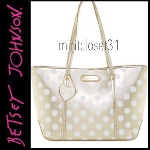🆕 Betsey Johnson Tote Bag